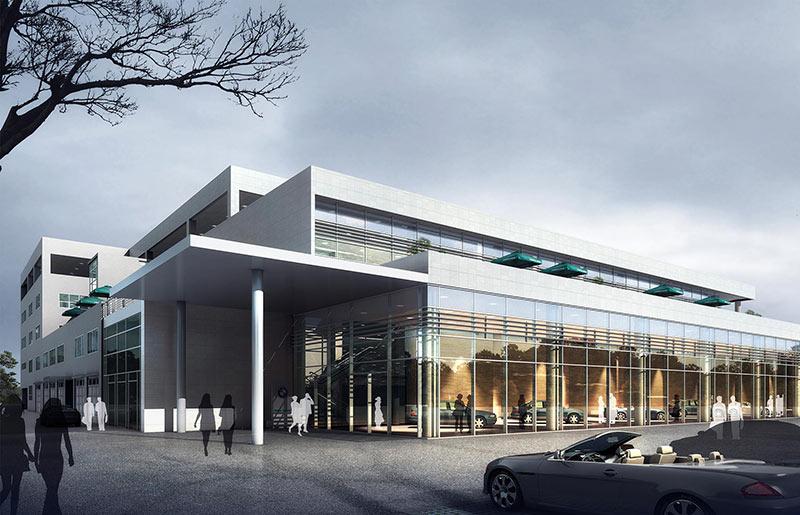 BMW 4S 展厅